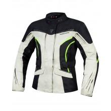 Куртка текстильная REBELHORN HIKER III LADY BLACK/GREY/FLO YELLOW