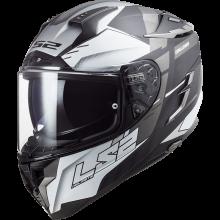 Шлем LS2 FF327 CHALLENGER ALLERT MATT TITAN SILVER