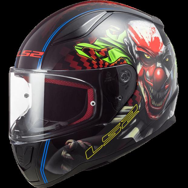 Шлем LS2 FF353 RAPID HAPPY DREAMS BLACK