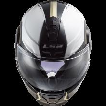 Шлем LS2 FF902 SCOPE ARCH WHITE TITANIUM