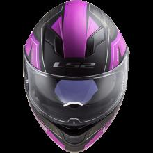 Шлем LS2 FF320 STREAM EVO MERCURY MATT TITANIUM PURPLE