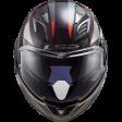 Шлем LS2 FF900 VALIANT II HUB BLACK TITANIUM