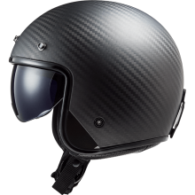 Шлем LS2 BOB OF601 SOLID MATTE CARBON