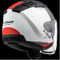 Шлем LS2 OF600 COPTER URBANE MATT WHITE BLACK