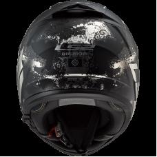 Шлем LS2 FF390 BREAKER EVO DEFT MATT BLACK TITANIUM