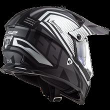 Шлем LS2 MX436 PIONEER EVO MASTER MATT TITANIUM