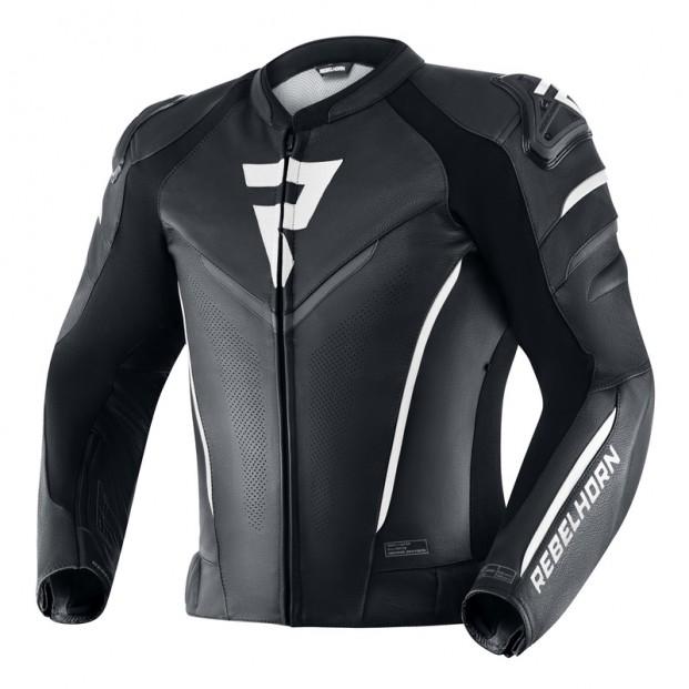 Куртка Rebelhorn Fighter Black/White Leather