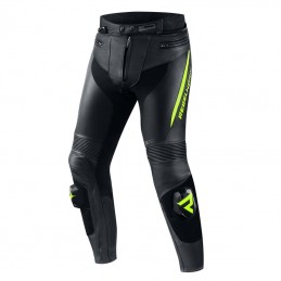 Штаны Rebelhorn Fighter Black/Flo Yellow