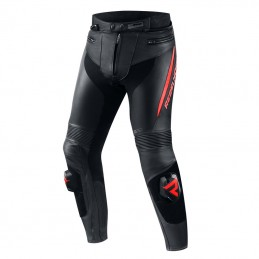 Штаны Rebelhorn Fighter Black/Flo Red