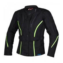 Куртка текстильная OZONE SAHARA LADY BLACK/FLUO YELLOW DXS