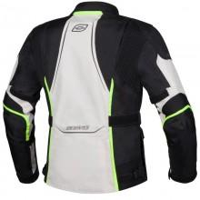 Куртка текстильная OZONE SAHARA LADY BLACK/GREY/FLUO YELLOW DL