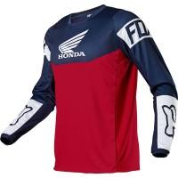 Мотоджерси Fox 180 Honda Jersey Navy/Red