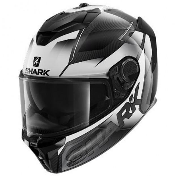 Шлем SHARK SPARTAN GT CARBON SHESTTER Carbon White White