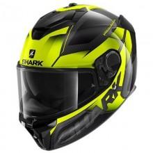 Шлем SHARK SPARTAN GT CARBON SHESTTER Carbon Yellow Yellow