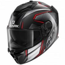 Шлем SHARK SPARTAN GT CARBON KROMIUM Carbon Chrom Red