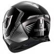 Шлем SHARK SKWAL 2 HALLDER Black White Anthracite