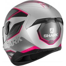 Шлем SHARK D-SKWAL 2 DAVEN Mat Silver Black Violet