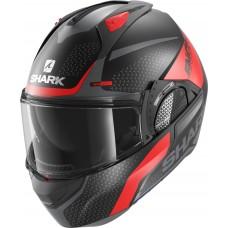 Шлем SHARK EVO GT ENCKE MAT Black Red Anthracite