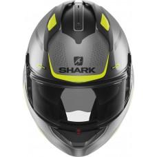 Шлем SHARK EVO GT ENCKE MAT Anthracite Yellow Black