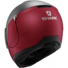Шлем SHARK EVOJET DUAL BLANK Mat Red Anthracite