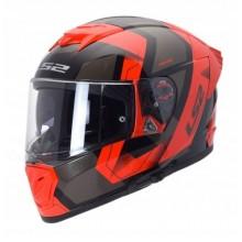 Шлем LS2 FF390 BREAKER EVO PHYSICS BLACK RED