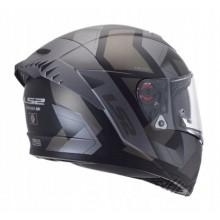 Шлем LS2 FF390 BREAKER EVO PHYSICS MATT BLACK TITANIUM
