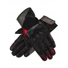 Перчатки кожаные REBELHORN FLUX II LADY BLACK/GREY/FLO RED