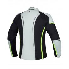 Куртка женская текстильная REBELHORN LUNA LADY BLACK/ICE/FLO YELLOW