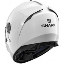 Шлем Shark Spartan Blank Black White azur