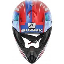 Шлем SHARK VARIAL TIXIER MAT Red White Blue