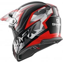 Шлем SHARK VARIAL TIXIER Black Glitter Red