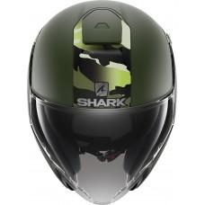 Шлем SHARK CITYCRUISER GENOM Mat Green Green Black