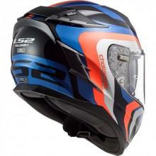 Шлем LS2 FF327 CHALLENGER GALACTIC BLUE ORANGE
