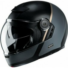 Шлем HJC V90 MOBIX BLACK/GREY