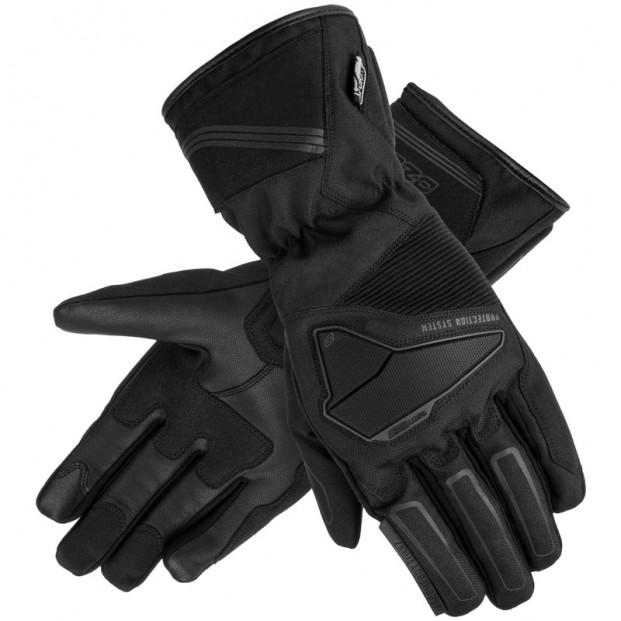 Перчатки кожано-текстильные OZONE TOURING WP BLACK