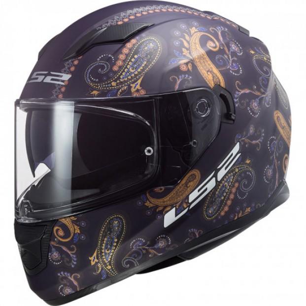 Шлем LS2 FF320 STREAM EVO PASLY MATT VIOLET