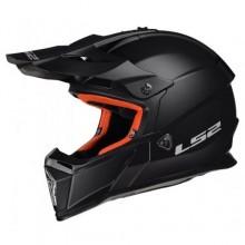 Шлем LS2 MX437 Fast Solid Matt Black