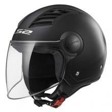 Шлем LS2 OF562 Airflow Solid Matt Black
