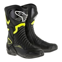 Ботинки Alpinestars SMX-6 V2 Black Yellow Fluorescent