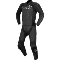 Комбинезон раздельный ALPINESTARS CHALLENGER V2 2PC LEATHER SUIT black