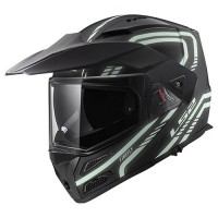 Шлем LS2 FF324 Metro Evo Firefly Matt Black Light