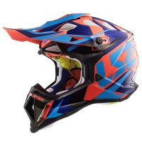Шлем LS2 MX470 Subverter Nimble Black Blue Orange