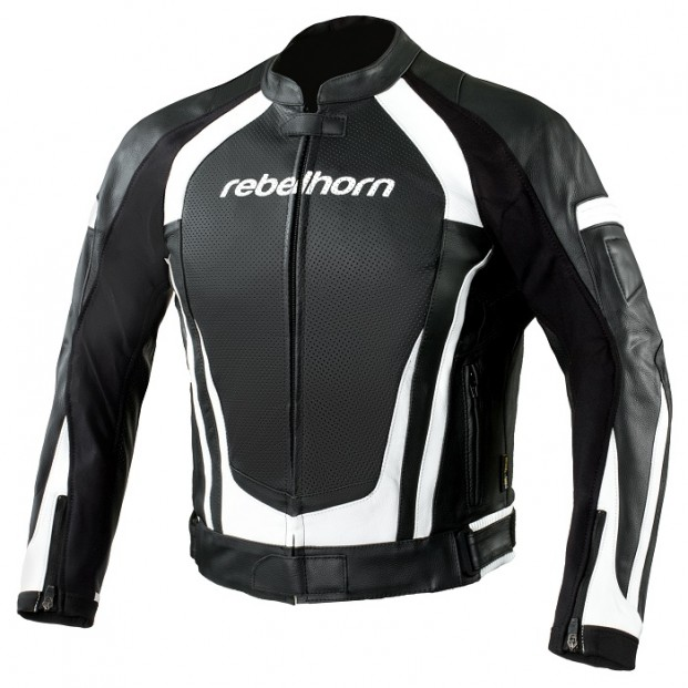 Куртка REBELHORN PISTON II Black/White