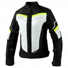 Куртка REBELHORN DISTRICT LADY Ice/Black/Fluo Yellow