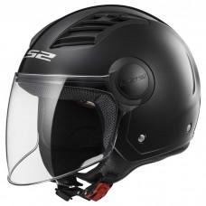 Шлем LS2 OF562 Airflow Solid Black