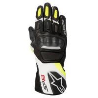 Перчатки Alpinestars SP-8 V2 Black White Yellow Fluorescent