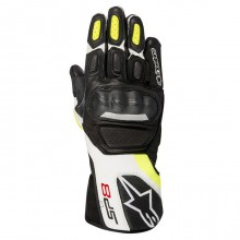 Перчатки Alpinestars SP-8 V2 Black White Yellow Fluorescent