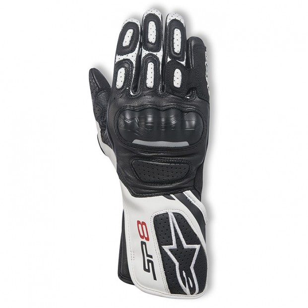 Перчатки Alpinestars Stella SP-8 V2 Black White