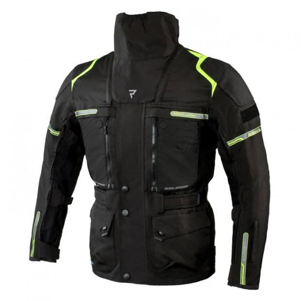Куртка Rebelhorn Cubby III Black Fluo Yellow