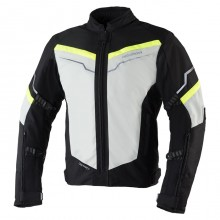 Куртка Rebelhorn District Ice Black Fluo Yellow